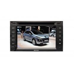 Necvox Dva 9956 Hd Peugeot 3008-5008 Black Edition 7 Inch Navigasyonlu Multimedya