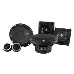 "Rockford Fosgate 6.50"" 2-Way Euro Fit Compatible Component System T1650-S"
